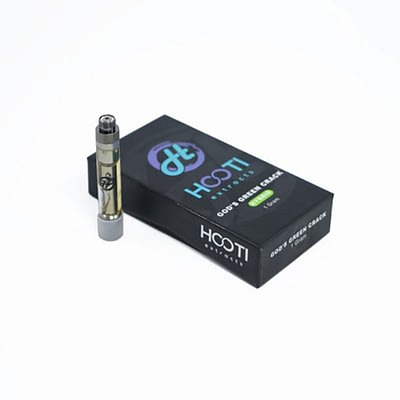 Hooti Extracts THC Distillate Cartridges